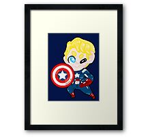 Marvel || Captain America Framed Print