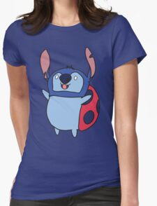 Catbug stitch Womens Fitted T-Shirt