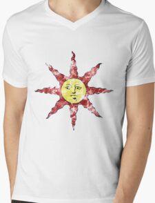 Sun Bro Mens V-Neck T-Shirt