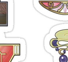 The Kalos Gym Badges Sticker
