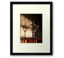 Home - my view Framed Print