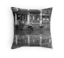 Canal Dynasty - Shantang Canal - Suzhou Throw Pillow