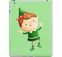 Cute Christmas Elf iPad Case/Skin