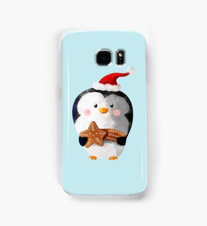 Cute Christmas Penguin Samsung Galaxy Case/Skin