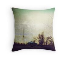 high end of low Throw Pillow