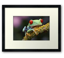 Greetings! Framed Print