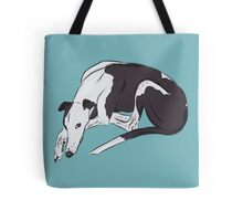 Lazy Daisy The Greyhound Tote Bag