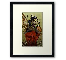 Patch in October Framed Print