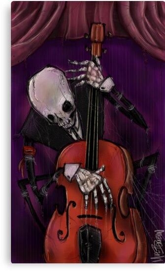 The Dead Cello by Michael Bombon
