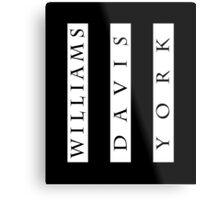 Williams, Davis & York Metal Print