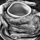Potters Hands by Julienne  Bowser