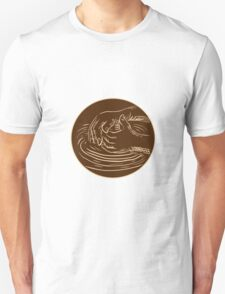 Hand Shaping Pottery Clay Etching T-Shirt