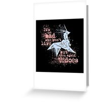 Blade Runner Sci Fi Science Fiction Ridley Scott Harrison Ford Unicorn Origami  Greeting Card