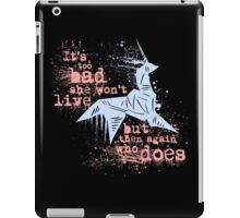 Blade Runner Sci Fi Science Fiction Ridley Scott Harrison Ford Unicorn Origami  iPad Case/Skin