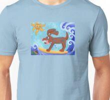Bongo Catches a Wave Unisex T-Shirt