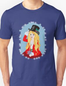 Christmas Top Hat Unisex T-Shirt