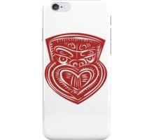 Maori Mask Etching iPhone Case/Skin