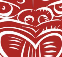 Maori Mask Etching Sticker
