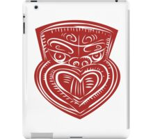 Maori Mask Etching iPad Case/Skin