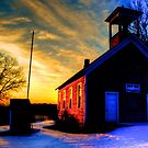 The Old Abandoned Schoolhouse by Trenton Purdy