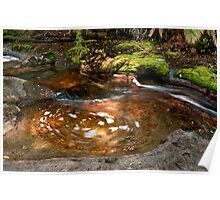 Swirling pool Poster