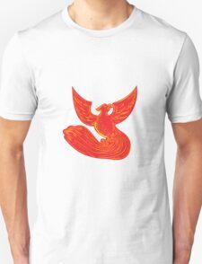 Phoenix Rising Etching T-Shirt