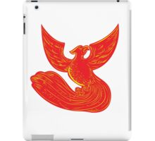 Phoenix Rising Etching iPad Case/Skin