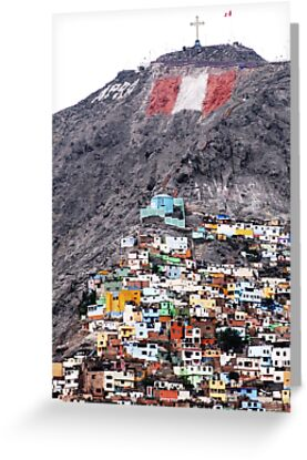 Colour on the Hill, Lima - Peru by PantaOz