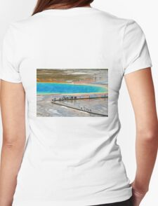 Grand Prismatic Spring, Yellowstone NP Womens Fitted T-Shirt