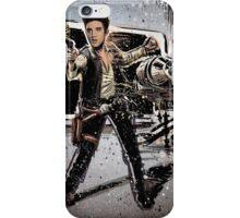 Elvis Han Solo Collage Art Home Decor, Elvis Presley, Star Wars, Harrison Ford, Millenium Falcon, Death Star iPhone Case/Skin