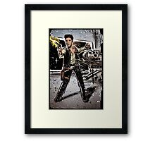 Elvis Han Solo Collage Art Home Decor, Elvis Presley, Star Wars, Harrison Ford, Millenium Falcon, Death Star Framed Print