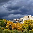 Split Mountain Autumn by Kim Barton