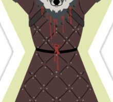 Poor King Robb Stark Sticker