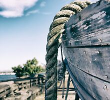 Vintage Rowing Boat by BronwynBell