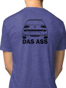 MK7 R DAS ASS Black Tri-blend T-Shirt