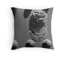Forbidden Entry - Forbidden City - Beijing Throw Pillow