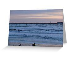 Quake Waves - Ocean Beach Series- San Diego - © 2010 Greeting Card