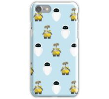 Wall-E & Eve Pattern iPhone Case/Skin