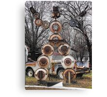 Hub Cap Man Canvas Print