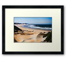Dune Shades Framed Print