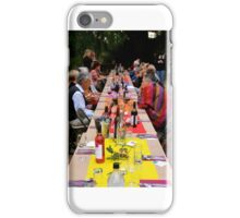 Shared Table iPhone Case/Skin