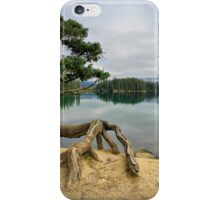 Lac Beauvert, Jasper National Park iPhone Case/Skin