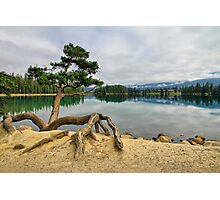 Lac Beauvert, Jasper National Park Photographic Print