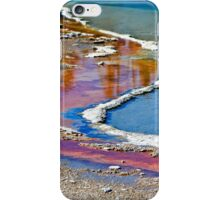Grand Prismatic Pool Abstract iPhone Case/Skin