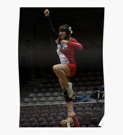 CSU-Pueblo Cheerleader @ RMAC Tournament Poster