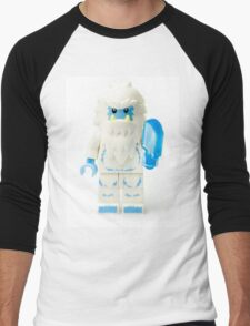Abominable Snowman Yeti Minifig Men's Baseball ¾ T-Shirt