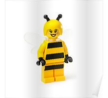 Bumble bee Minifig Poster