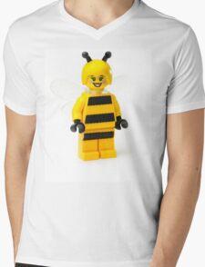 Bumble bee Minifig Mens V-Neck T-Shirt
