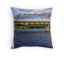 Shoalhaven River, Nowra, NSW, Australia Throw Pillow