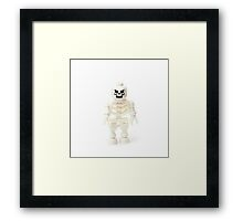 Skeleton Minifig Framed Print